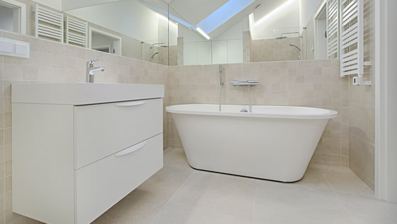 Bathroom Remodeling installed by Sandy Springs Home Improvement